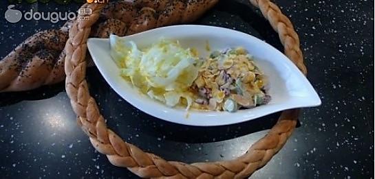 杏仁蔬菜沙拉的做法