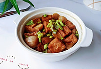 可乐豆腐毛地瓜的做法