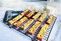 简单几步,做出媲美面包店的蒜香面包条的做法