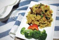 咖喱香菇排骨饭(家常版)的做法