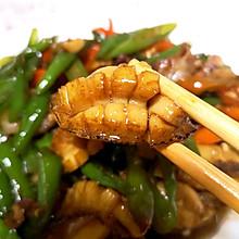 青椒焖鲍鱼