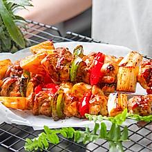 煎烤鸡肉串