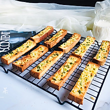 简单几步,做出媲美面包店的蒜香面包条
