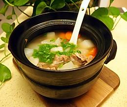 羊肉白萝卜炖锅的做法