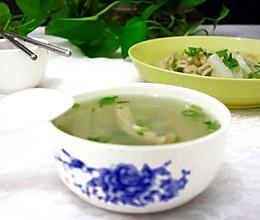 牛肚萝卜汤的做法