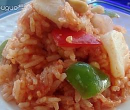 美味的带子焖炒米饭的做法