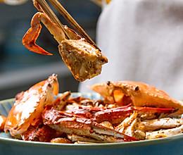 蒜子豆酱焗蟹的做法