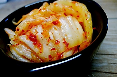 简单食材制作辣白菜