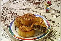 #晒出你的团圆大餐#广式冬蓉五仁月饼的做法