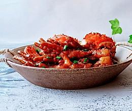 #美食视频挑战赛# 秘制肉蟹煲的做法