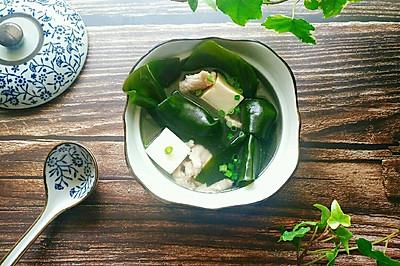 海带豆腐瘦肉汤