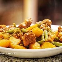 排骨炖土豆豆角的做法图解18