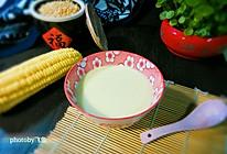 鲜奶玉米汁#舌尖上的春宴#的做法