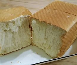 一次发酵白粥吐司的做法