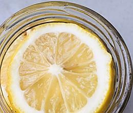 自制蜂蜜柠檬水的做法
