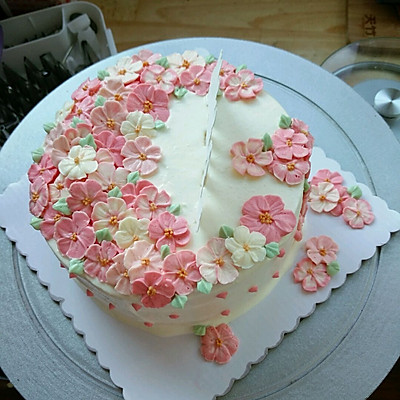 蛋糕奶油裱花