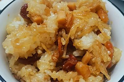 暖暖的糯米飯