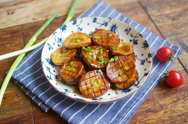 红烧杏鲍菇#就是红烧吃不腻!#的做法