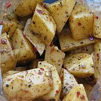追剧零食——烤薯角的做法图解2