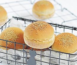 全麦汉堡胚的做法