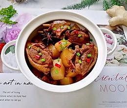 #我们约饭吧#萝卜炖鸭肉的做法