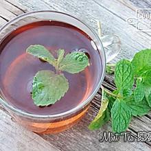 消暑饮品--薄荷茶