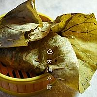 清香荷叶饭的做法图解8