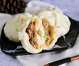 牛肉大葱包子#蒸派or烤派#的做法