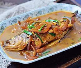 #父亲节,给老爸做道菜#红烧鲈鱼的做法