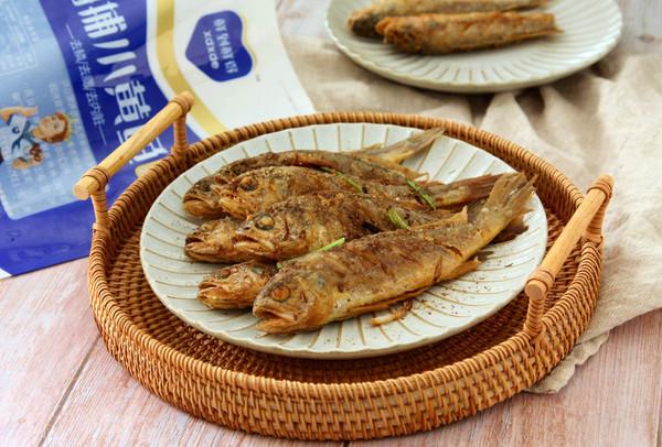 外酥里嫩—香煎椒盐小黄鱼
