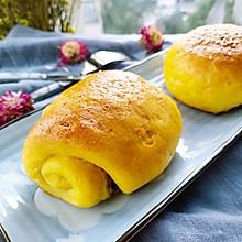 南瓜豆渣面包