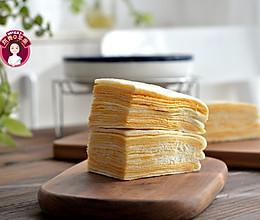 咸蛋黄千层糕的做法