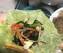 炒合菜的做法