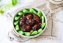 #钟于经典传统味#油菜扒香菇的做法