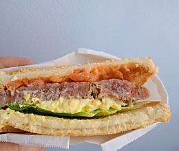 牛排三明治的做法