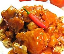 锅包肉+酱油麻油拌黄瓜的做法