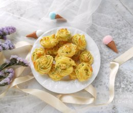 #童年不同样,美食有花样#香葱奶味烤土豆泥的做法