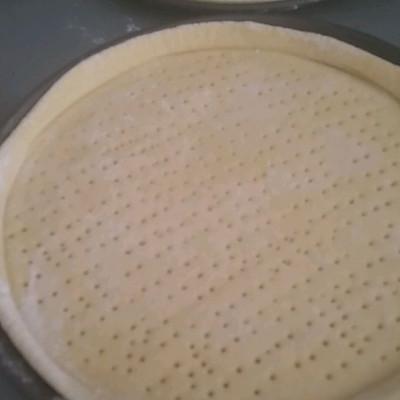 披萨饼底制作