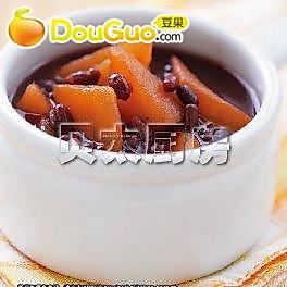 红豆甘薯汤的做法