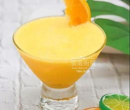 香橙冰沙的做法