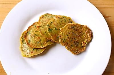 鸡肝蔬菜小饼