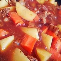 【番茄土豆炖牛腩】冬季炖菜的做法图解6