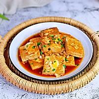 #憋在家里吃什么#茄汁鹌鹑蛋酿豆腐的做法图解12