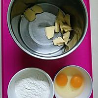 脆皮菠萝泡芙的做法图解1