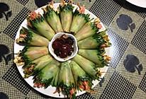 黄瓜卷三丝的做法