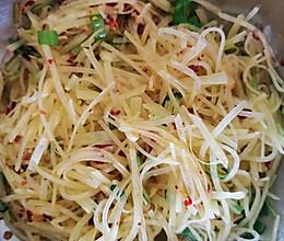 简单美味的凉拌土豆丝的做法