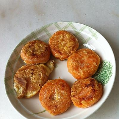 超级简单好吃的番薯饼