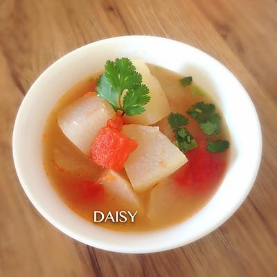 【❤汤】快手冬瓜番茄汤