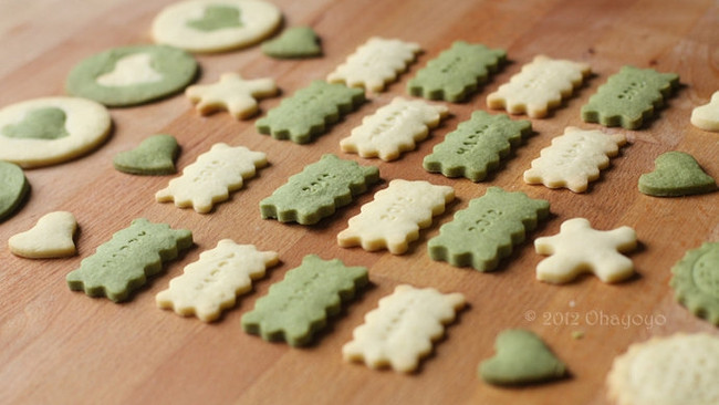 基础造型饼干的做法