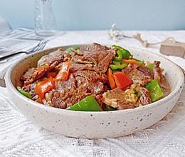 #中秋宴,名厨味#双椒炒牛肉的做法